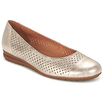 Schuhe Damen Ballerinas Gabor ELASSY Gold