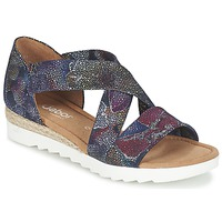 Schuhe Damen Sandalen / Sandaletten Gabor WOLETTE Blau / Violett