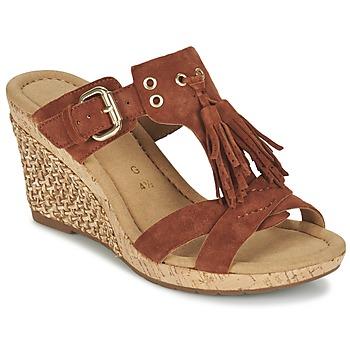 Schuhe Damen Sandalen / Sandaletten Gabor MULETTE Braun