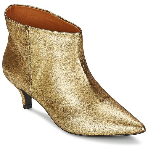 Schuhe Damen Ankle Boots RAS ESPE Gold