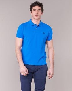 Kleidung Herren Polohemden U.S Polo Assn. INSTITUTIONAL Blau