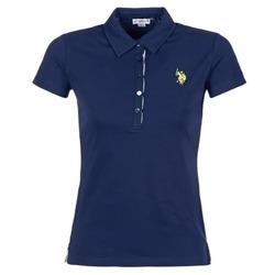 Kleidung Damen Polohemden U.S Polo Assn. LOGO Marine