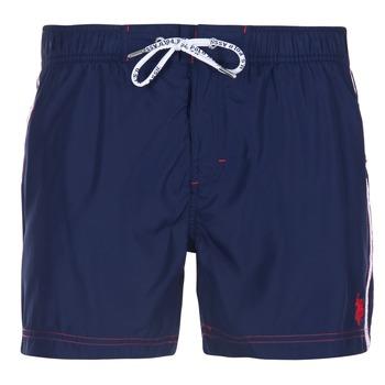 Kleidung Herren Badeanzug /Badeshorts U.S Polo Assn. AXEL SWIM TRUNK MED Marine
