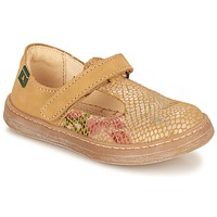Schuhe Mädchen Ballerinas El Naturalista KEPINA Beige