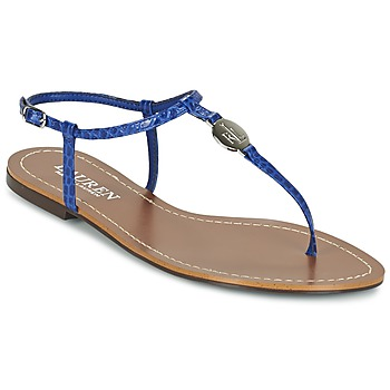 Schuhe Damen Zehensandalen Ralph Lauren AIMON SANDALS CASUAL Blau