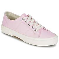 Schuhe Damen Sneaker Low Ralph Lauren JOLIE SNEAKERS VULC Rose