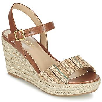 Schuhe Damen Sandalen / Sandaletten Ralph Lauren KEARA ESPADRILLES CASUAL Braun / Beige