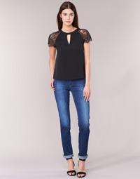 Kleidung Damen Straight Leg Jeans Lee MARION STRAIGHT Blau