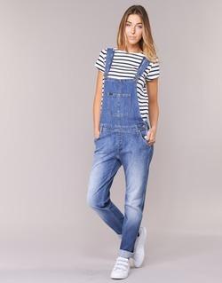 Kleidung Damen Overalls / Latzhosen Lee RELAXED BIB Blau