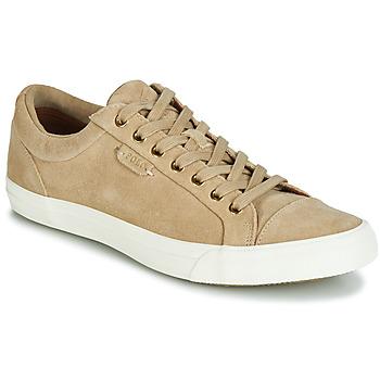 Schuhe Herren Sneaker Low Polo Ralph Lauren GEFFREY Camel