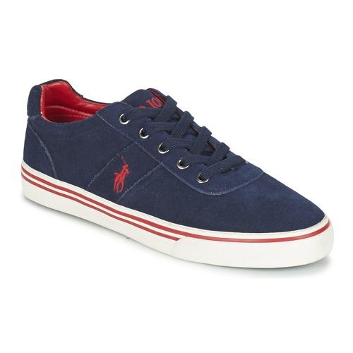 Polo Ralph Lauren HANFORD Marine  Schuhe Sneaker Low Herren 88,99