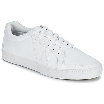 Schuhe Herren Sneaker Low Ralph Lauren HUGH Weiss
