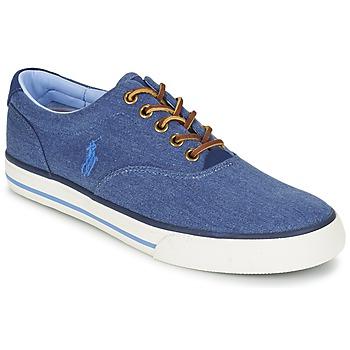 Schuhe Herren Sneaker Low Ralph Lauren VAUGHN Blau