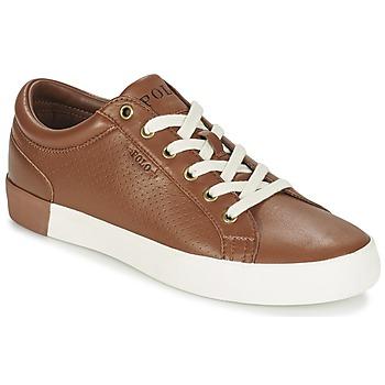 Schuhe Herren Sneaker Low Ralph Lauren ALDRIC II Braun