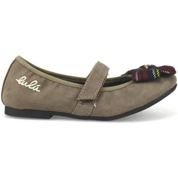 Schuhe Mädchen Ballerinas Lulu ballerinas beige wildleder AH262 beige