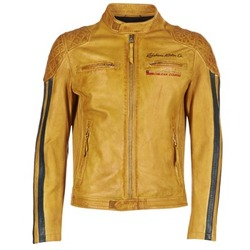 Kleidung Herren Lederjacken / Kunstlederjacken Redskins RIVAS Gelb