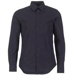 Kleidung Herren Langärmelige Hemden G-Star Raw CORE SHIRT Marine