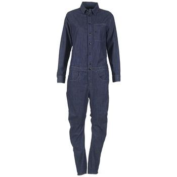 Kleidung Damen Overalls / Latzhosen G-Star Raw STALT 3D Blau