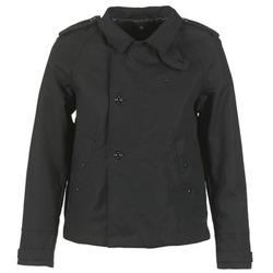 Kleidung Damen Trenchcoats G-Star Raw FLORENCE CROPPED Schwarz