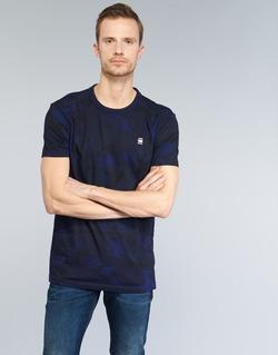 Kleidung Herren T-Shirts G-Star Raw HOYN Marine / Blau