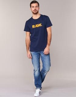 Kleidung Herren T-Shirts G-Star Raw RAW DOT Marine