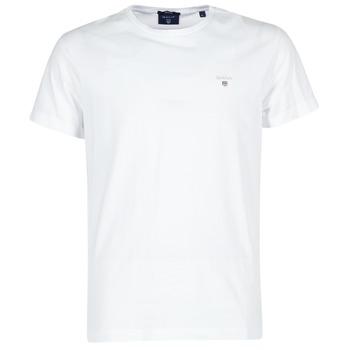 Kleidung Herren T-Shirts Gant THE ORIGINAL T-SHIRT Weiss