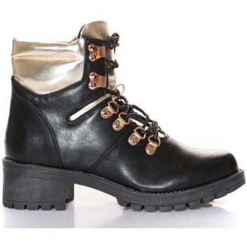 Schuhe Damen Boots Cassis Côte d'Azur Cassis Côte d' azur Bottine Daphne Noir Schwarz