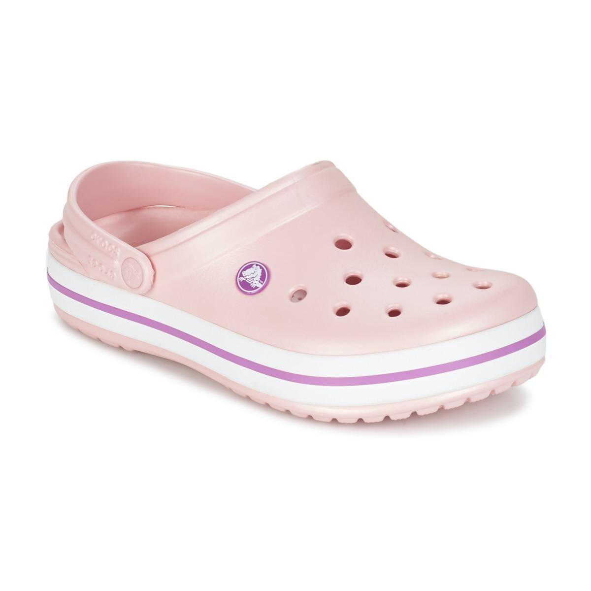 Crocs CROCBAND Rose - Kostenloser Versand bei Spartoode ! - Schuhe Pantoletten / Clogs Damen 36,00 €