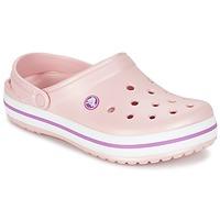 Schuhe Pantoletten / Clogs Crocs CROCBAND Rose
