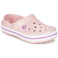 Schuhe Damen Pantoletten / Clogs Crocs CROCBAND Rose