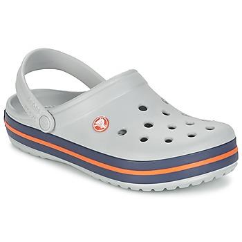 Schuhe Pantoletten / Clogs Crocs CROCBAND Grau
