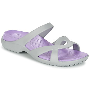 Schuhe Damen Sandalen / Sandaletten Crocs MELEEN TWIST Grau