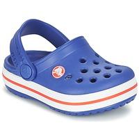 Schuhe Jungen Pantoletten / Clogs Crocs Crocband Clog Kids Blau