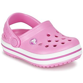 Schuhe Mädchen Pantoletten / Clogs Crocs Crocband Clog Kids Rose