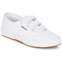Schuhe Damen Sneaker Low Superga 2750 COT3 VEL U Weiss