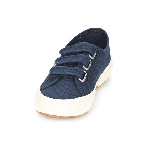 Superga 2750 COT3 VEL U Marine  Schuhe Sneaker Low Damen 55,99