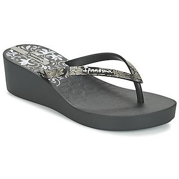 Schuhe Damen Zehensandalen Ipanema ART DECO III Schwarz
