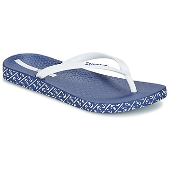 Schuhe Damen Zehensandalen Ipanema ANATOMIC SOFT Weiss / Blau