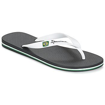 Schuhe Herren Zehensandalen Ipanema CLASSICA BRASIL II Schwarz / Weiss
