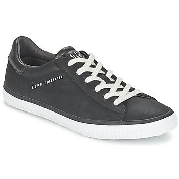 Schuhe Damen Sneaker Low Esprit RIATA LACE UP Schwarz