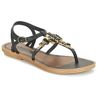 Schuhe Damen Sandalen / Sandaletten Grendha REALCE SANDAL Schwarz