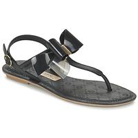 Schuhe Damen Sandalen / Sandaletten Grendha SENSE SANDAL Schwarz
