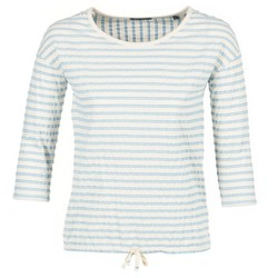 Kleidung Damen Tops / Blusen Marc O'Polo GRASSIRCO Weiss / Blau