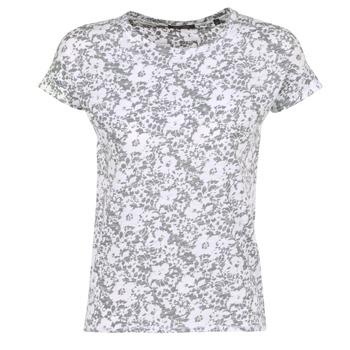 Kleidung Damen T-Shirts Marc O'Polo BRIDELOPAC Grau / Weiss