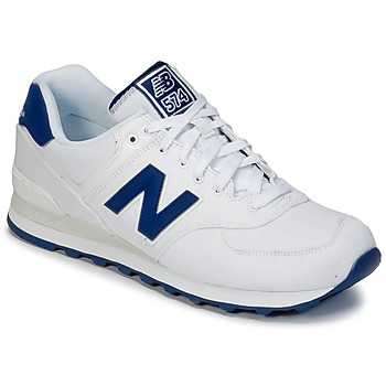 Schuhe Sneaker Low New Balance ML574 Weiss / Blau