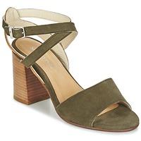 Schuhe Damen Sandalen / Sandaletten Marc O'Polo MODERANA Kaki