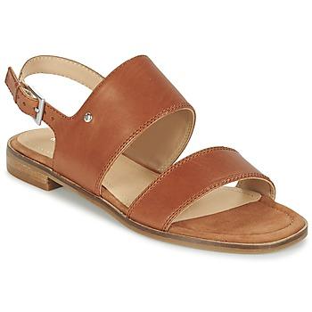 Schuhe Damen Sandalen / Sandaletten Marc O'Polo MIKILOP Cognac