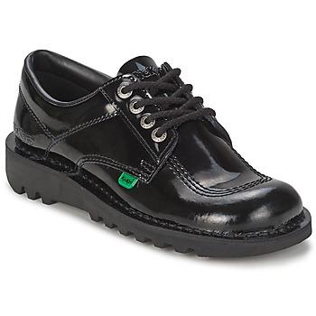 Schuhe Damen Richelieu Kickers KICK LO Schwarz