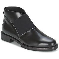 Schuhe Damen Low Boots F-Troupe Chelsea Boot Schwarz