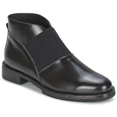 F-Troupe Chelsea Boot Schwarz Schuhe Low Boots Damen 181